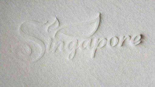 Khuyến mãi đệm bông ép Singapore chính hãng