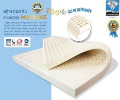 Khuyến mãi đệm cao su Kim Cương Massage