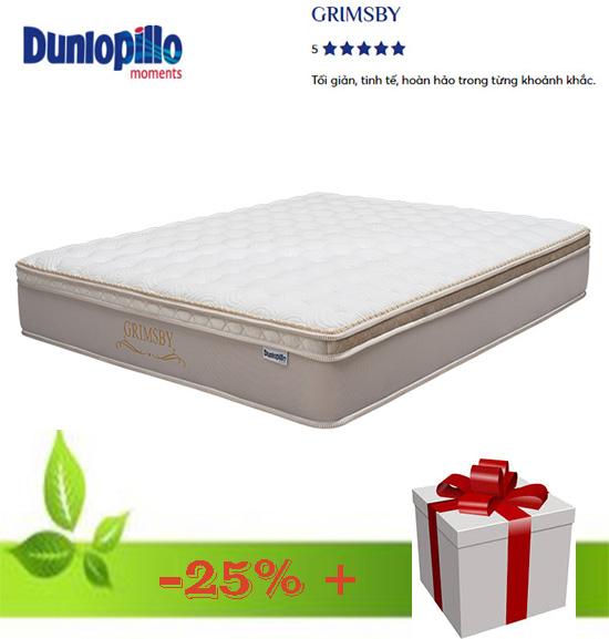 Khuyến mãi đệm lò xo túi liên kết Dunlopillo Grimby cao cấp chính hãng