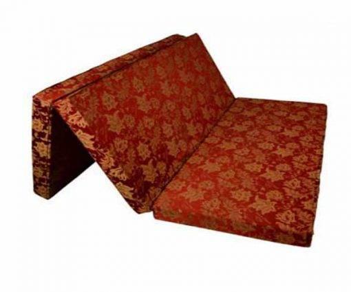 Đệm bông ép Sông Hồng vải gấm 3 mảnh chính hãng