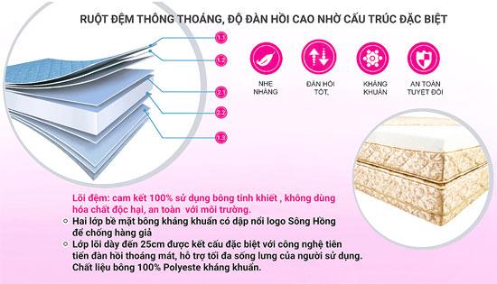 Phân phối Đệm Sông Hồng chính hãng