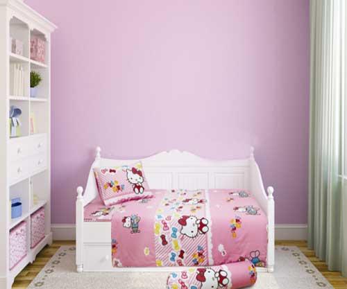 Bộ chăn ga gối Hello Kitty K15032